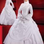 kapalı gelinlik modelleri - Tesettürlü BayanlaraTesettür Gelinlik Modelleri