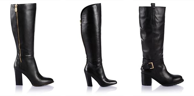 Yüksek Topuklu Uzun Bayan Çizme Modelleri 2017