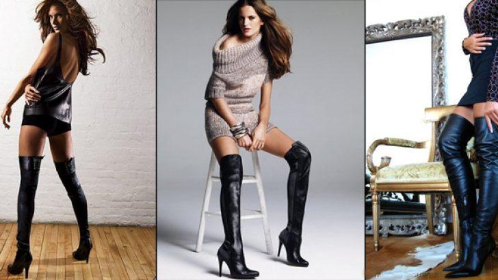 En Şık 2018 Yüksek Topuklu Çizme Modelleri