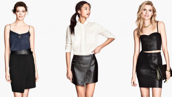 2018 Bayan Etek Modelleri ve Şık Etek Kombinleri