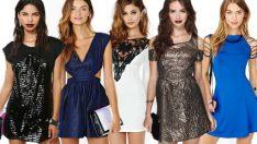 Süper Seksi Gece Elbiseleri – Mini Abiye Elbise Modelleri