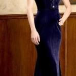 Kadife Abiye Elbise Modelleri 2021 Davetlerinin Yeni Trendi