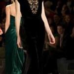 Kadife Abiye Elbise Modelleri