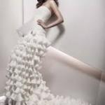 2017 Straplez Dekolteli Prenses Gelinlik Modelleri