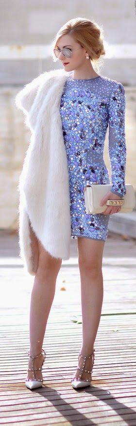 Yılbaşı İçin Göz alıcı Elbise Kombinleri (13)