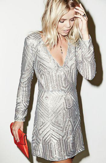 Yılbaşı İçin Göz alıcı Elbise Kombinleri (14)