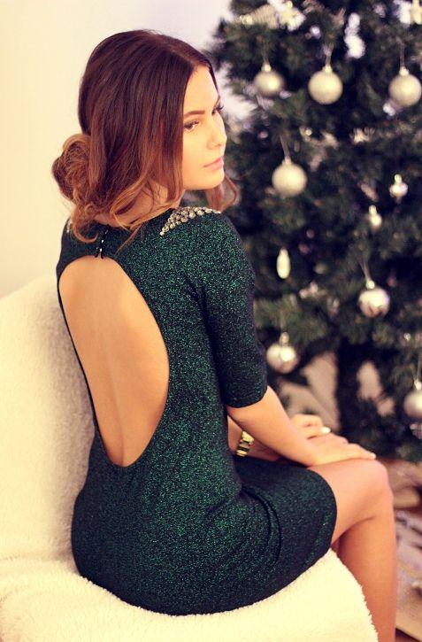 Yılbaşı İçin Göz alıcı Elbise Kombinleri (19)
