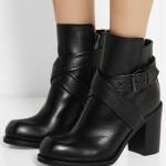 Bayan Deri Çizme Modelleri 2016