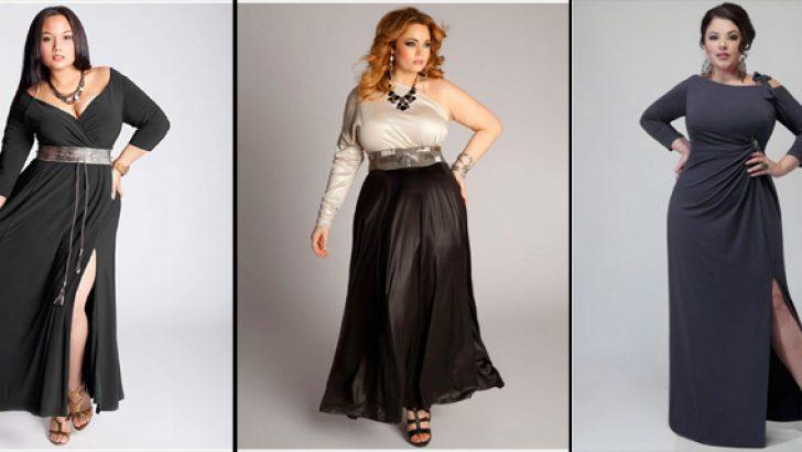 Büyük Beden Abiye Elbise Modelleri 2017