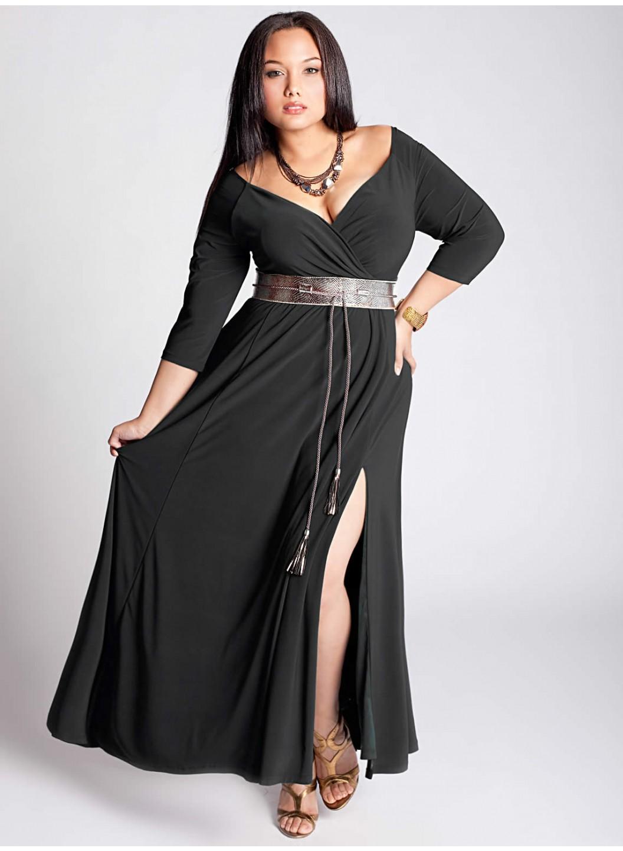 Büyük Beden Çekici Elbise Modelleri ve Kombinleri
