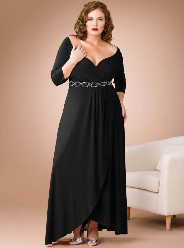 70a0550ed795c 2019 Büyük Beden Elbise Modelleri – büyük beden abiyeler-buyuk beden gece  elbiseleri