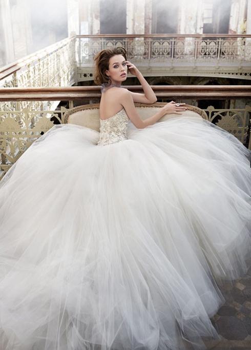 6c16f802a1037 En Güzel Prenses Gelinlik Modelleri   SadeKadınlar, Kıyafet Kombinleri