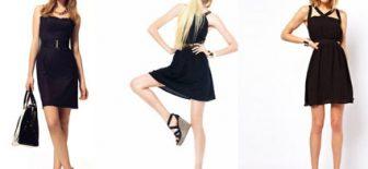 Yılbaşı İçin En Güzel Siyah Elbise Modelleri
