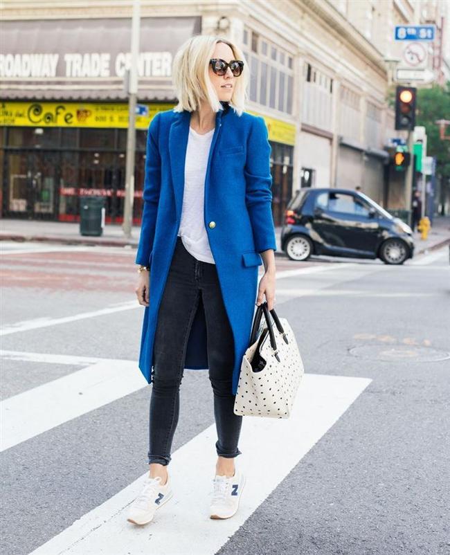 mavi3-Bu Kışın Palto ve  Kaban Kombinleri