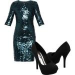 Yılbaşı için Gece Elbise Modelleri