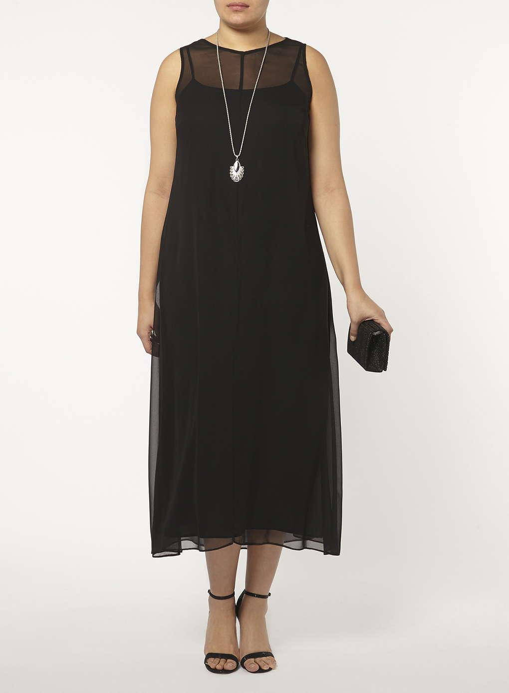 Büyük Beden Uzun Abiye Elbise Modelleri - Gece Elbiseleri - plus size dresses (1)