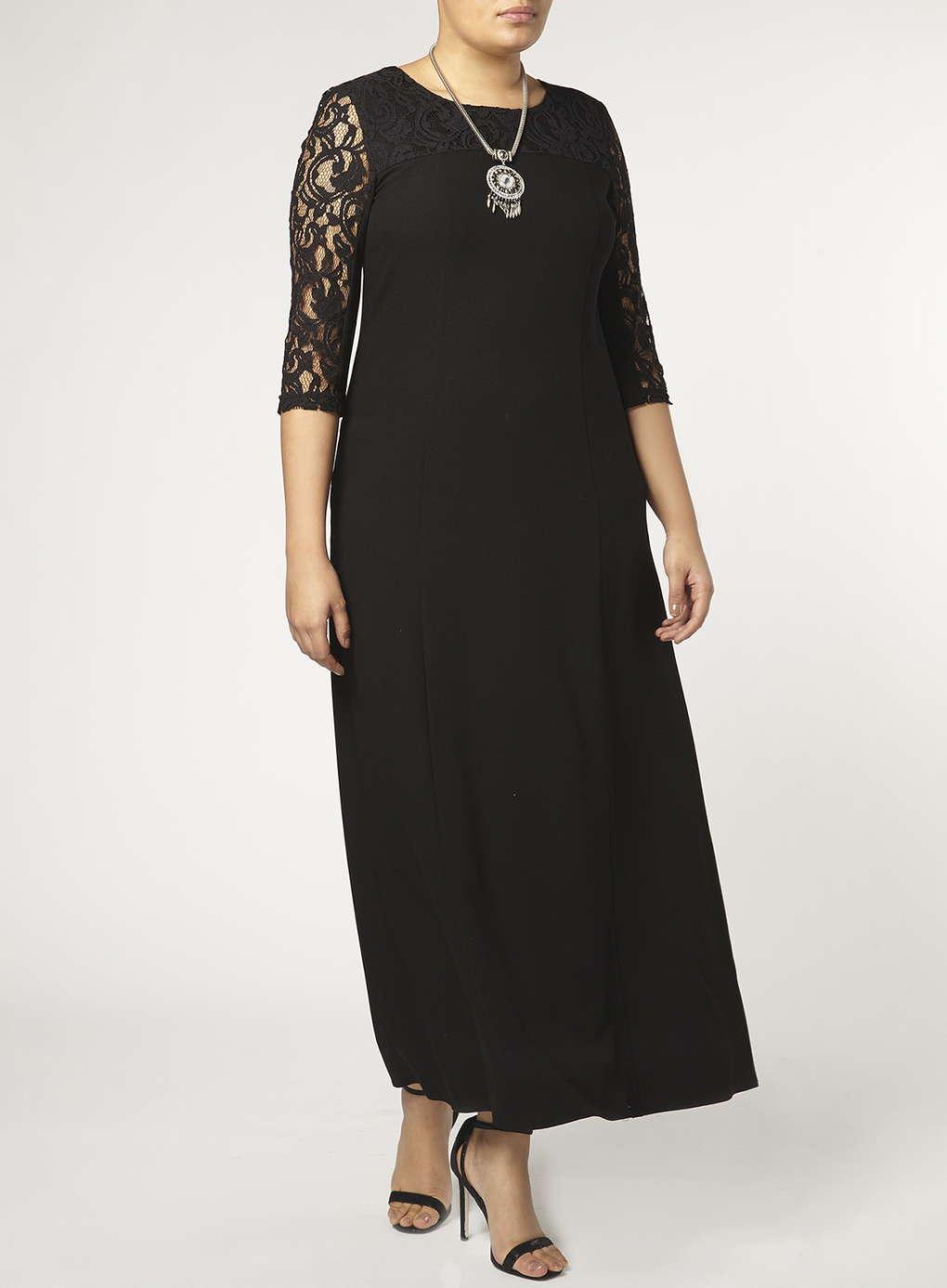 Büyük Beden Uzun Abiye Elbise Modelleri - Gece Elbiseleri - plus size dresses (10)