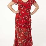 Büyük Beden Uzun Abiye Elbise Modelleri - Gece Elbiseleri - plus size dresses (11)