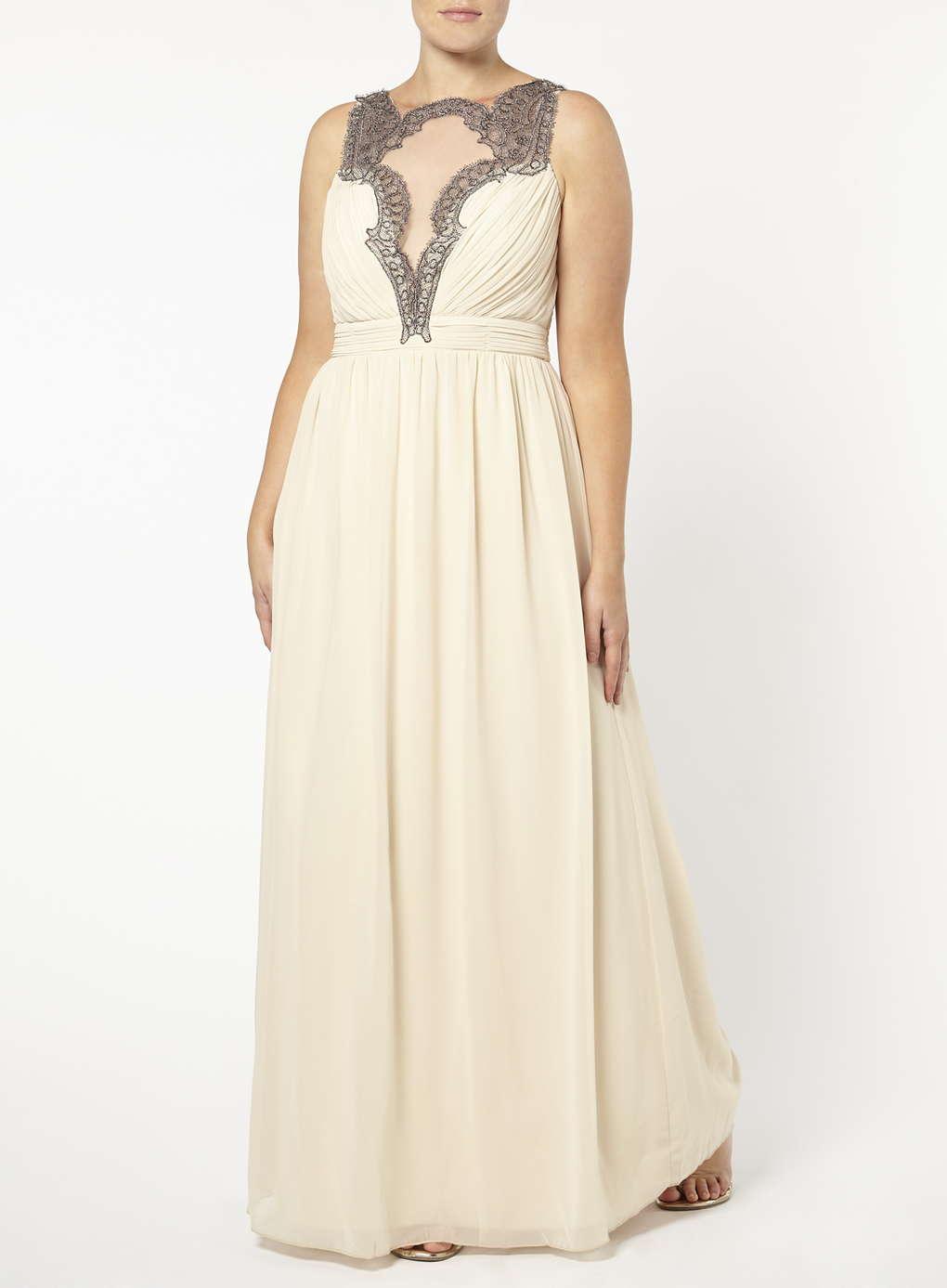 Büyük Beden Uzun Abiye Elbise Modelleri - Gece Elbiseleri - plus size dresses (13)