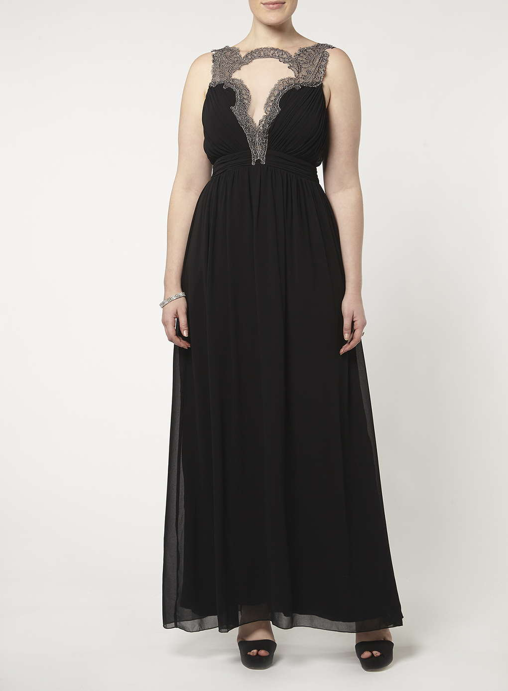 Büyük Beden Uzun Abiye Elbise Modelleri - Gece Elbiseleri - plus size dresses (16)