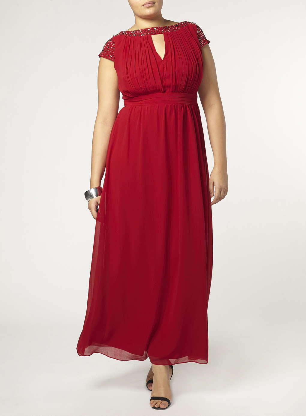 Büyük Beden Uzun Abiye Elbise Modelleri - Gece Elbiseleri - plus size dresses (18)