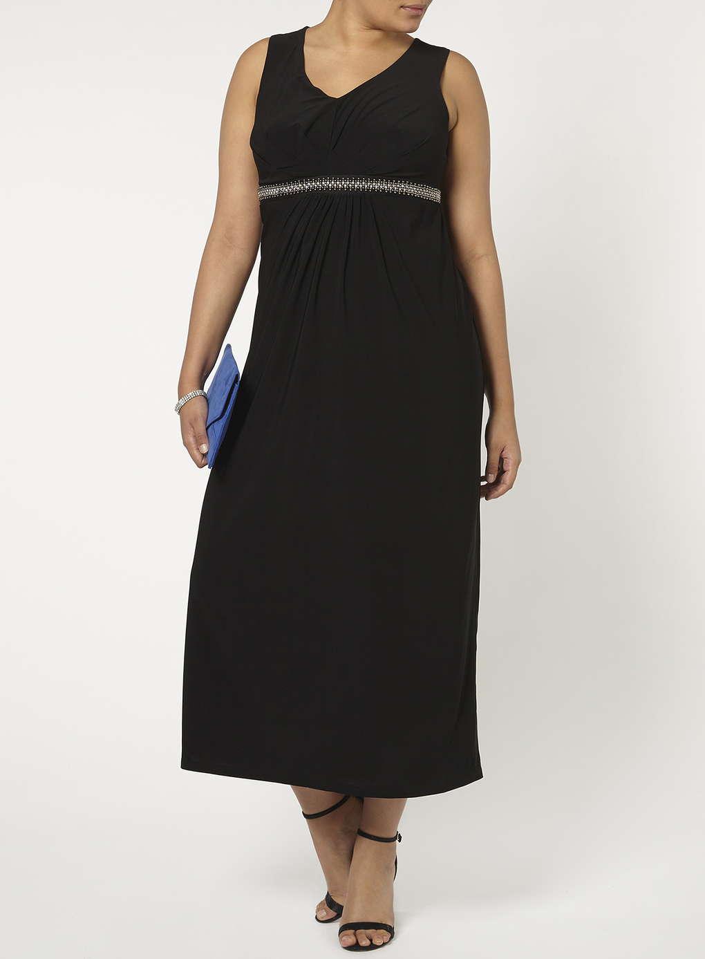 Büyük Beden Uzun Abiye Elbise Modelleri - Gece Elbiseleri - plus size dresses (2)