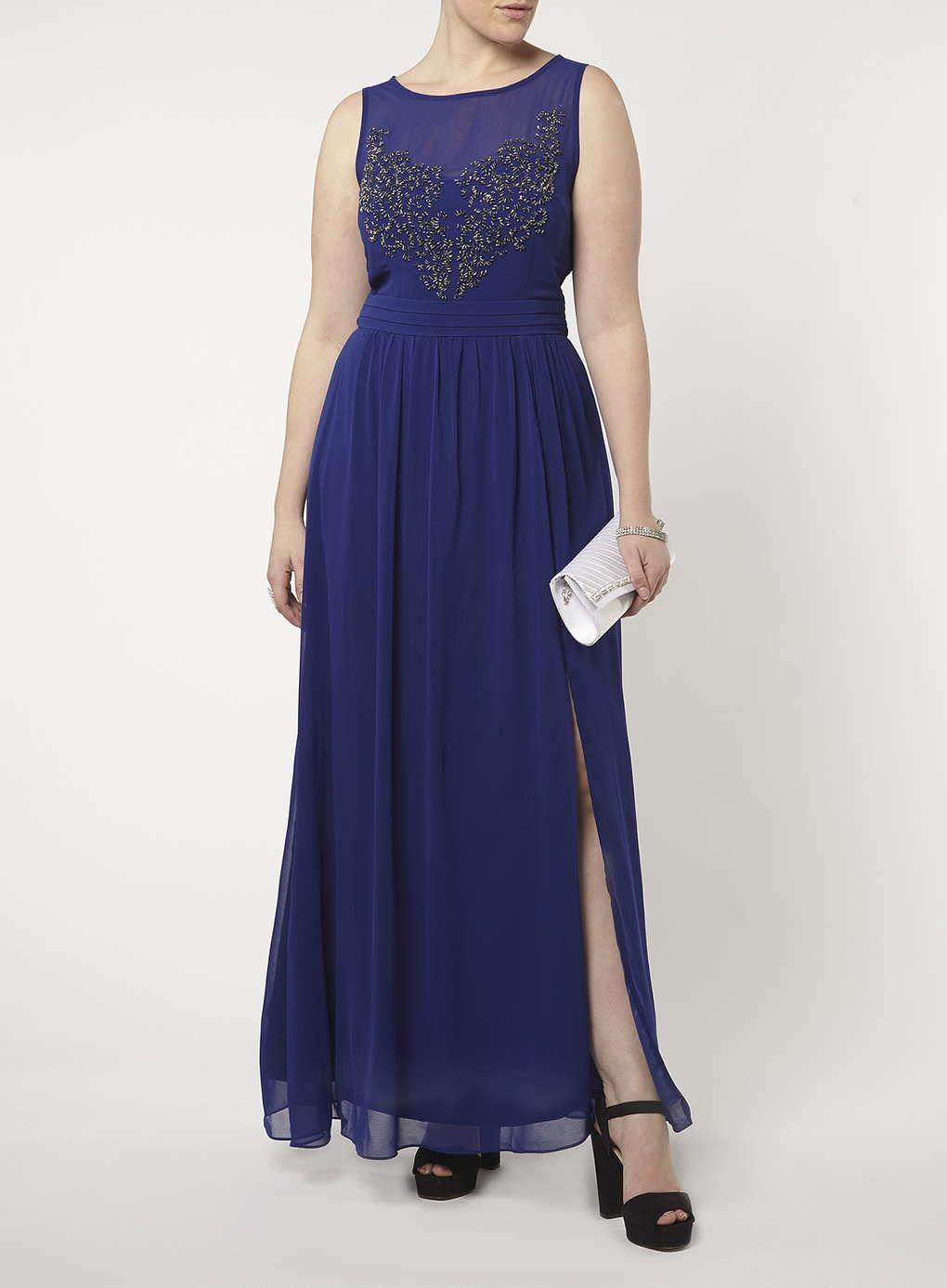 Büyük Beden Uzun Abiye Elbise Modelleri - Gece Elbiseleri - plus size dresses (20)