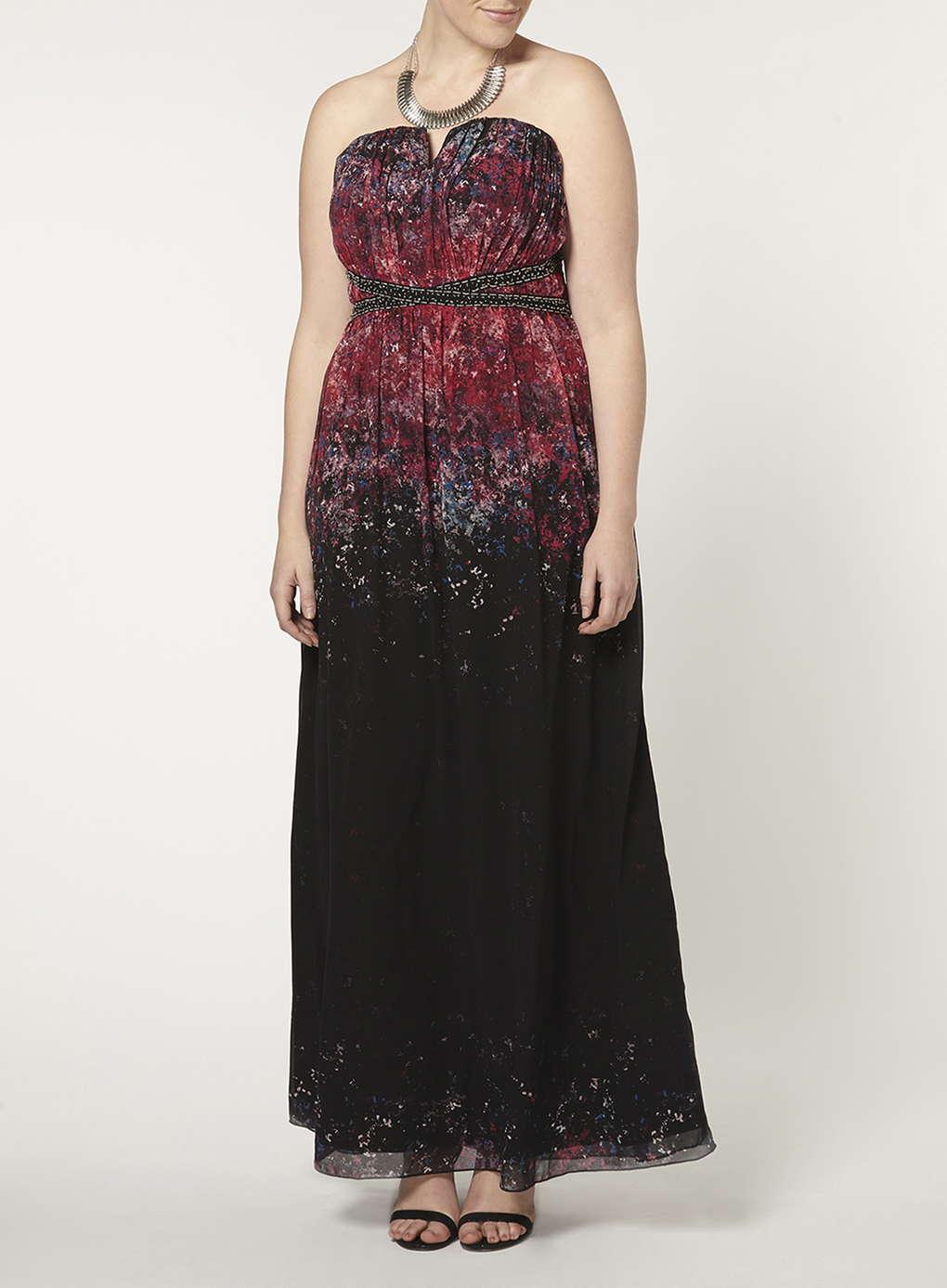 Büyük Beden Uzun Abiye Elbise Modelleri - Gece Elbiseleri - plus size dresses (22)