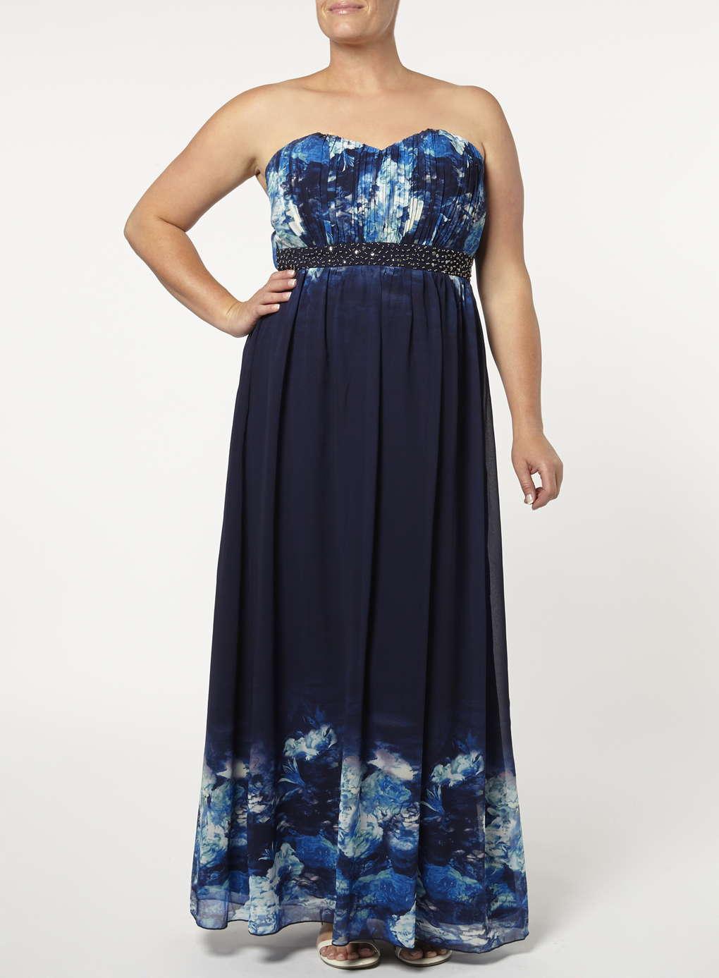 Büyük Beden Uzun Abiye Elbise Modelleri - Gece Elbiseleri - plus size dresses (23)
