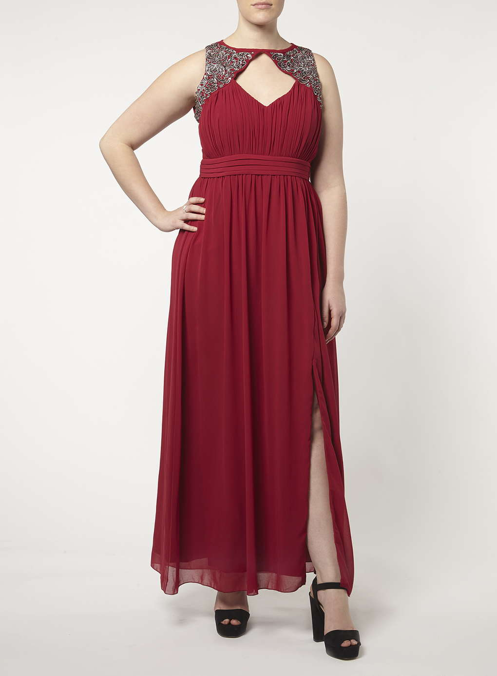 Büyük Beden Uzun Abiye Elbise Modelleri - Gece Elbiseleri - plus size dresses (25)