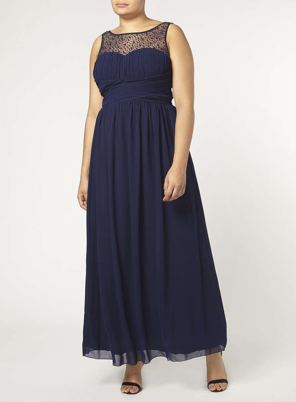 Büyük Beden Uzun Abiye Elbise Modelleri - Gece Elbiseleri - plus size dresses (26)