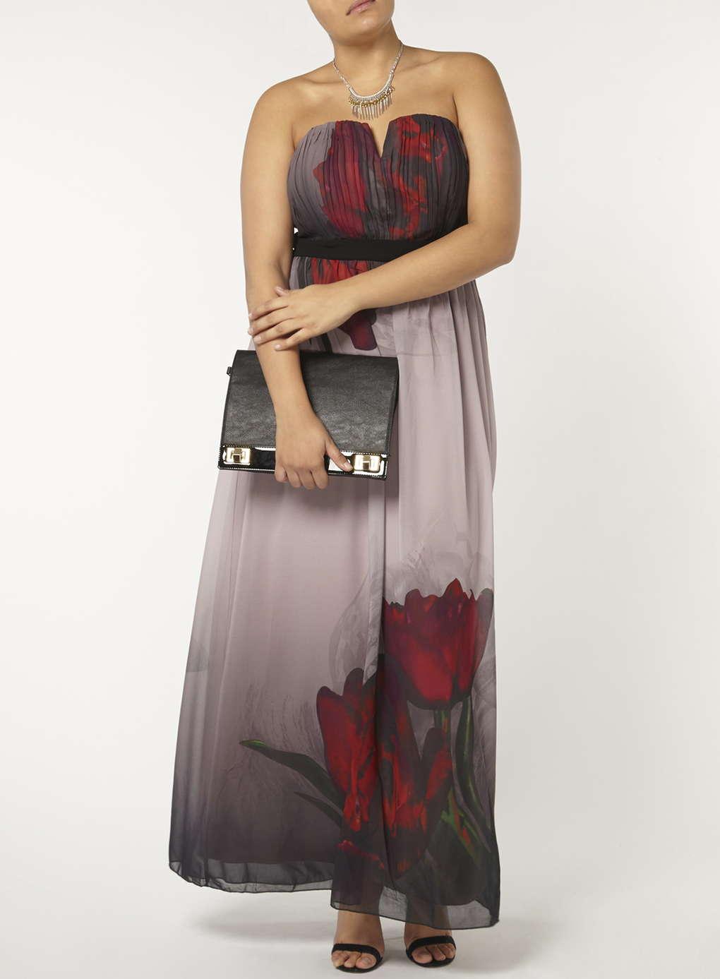 Büyük Beden Uzun Abiye Elbise Modelleri - Gece Elbiseleri - plus size dresses (27)
