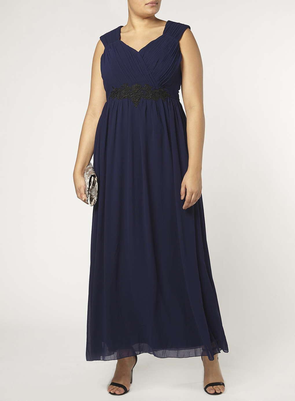 Büyük Beden Uzun Abiye Elbise Modelleri - Gece Elbiseleri - plus size dresses (28)