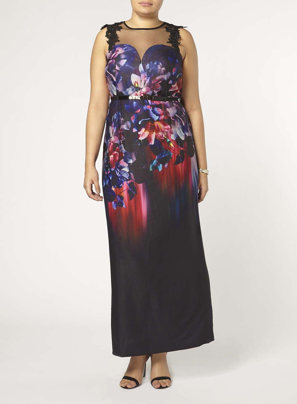 Büyük Beden Uzun Abiye Elbise Modelleri - Gece Elbiseleri - plus size dresses (30)