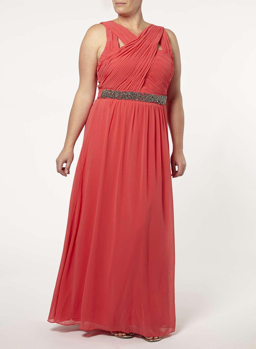 Büyük Beden Uzun Abiye Elbise Modelleri - Gece Elbiseleri - plus size dresses (32)