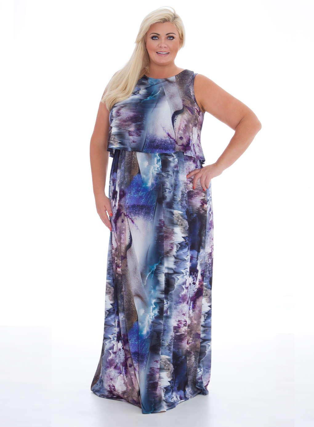 Büyük Beden Uzun Abiye Elbise Modelleri - Gece Elbiseleri - plus size dresses (33)