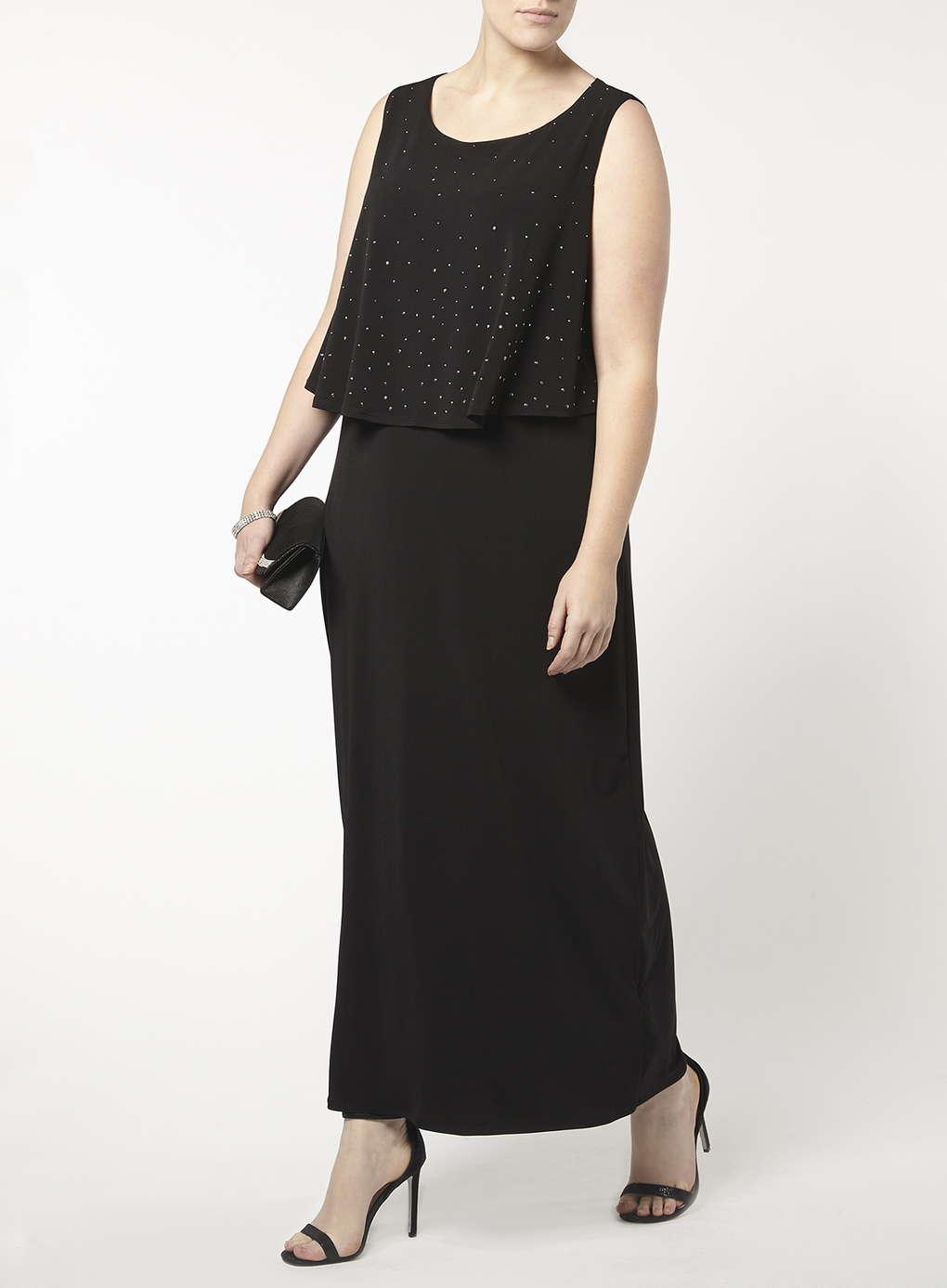 Büyük Beden Uzun Abiye Elbise Modelleri - Gece Elbiseleri - plus size dresses (5)