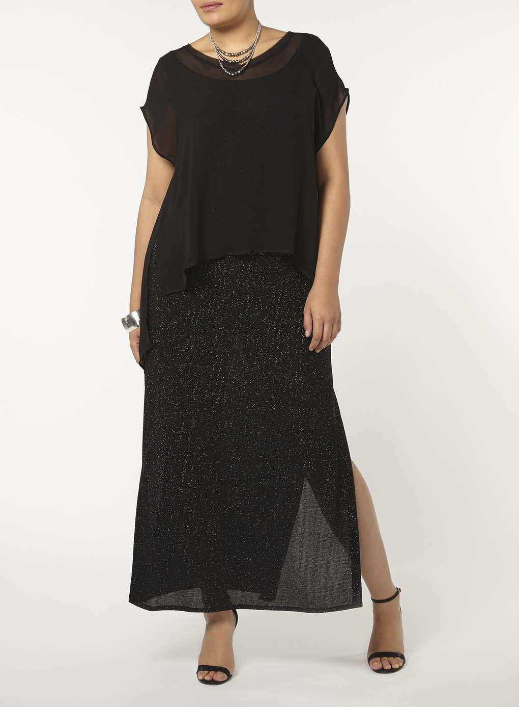 Büyük Beden Uzun Abiye Elbise Modelleri - Gece Elbiseleri - plus size dresses (6)