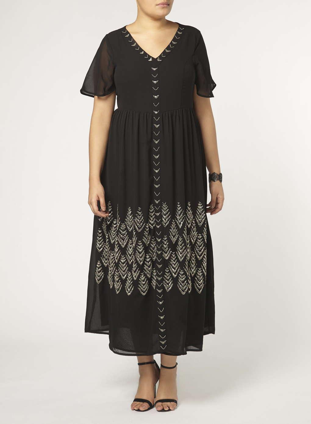 Büyük Beden Uzun Abiye Elbise Modelleri - Gece Elbiseleri - plus size dresses (7)