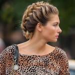 Birbirinden Şık ve Güzel Örgü Saç Modelleri (15)