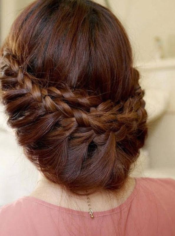 Birbirinden Şık ve Güzel Örgü Saç Modelleri (16)