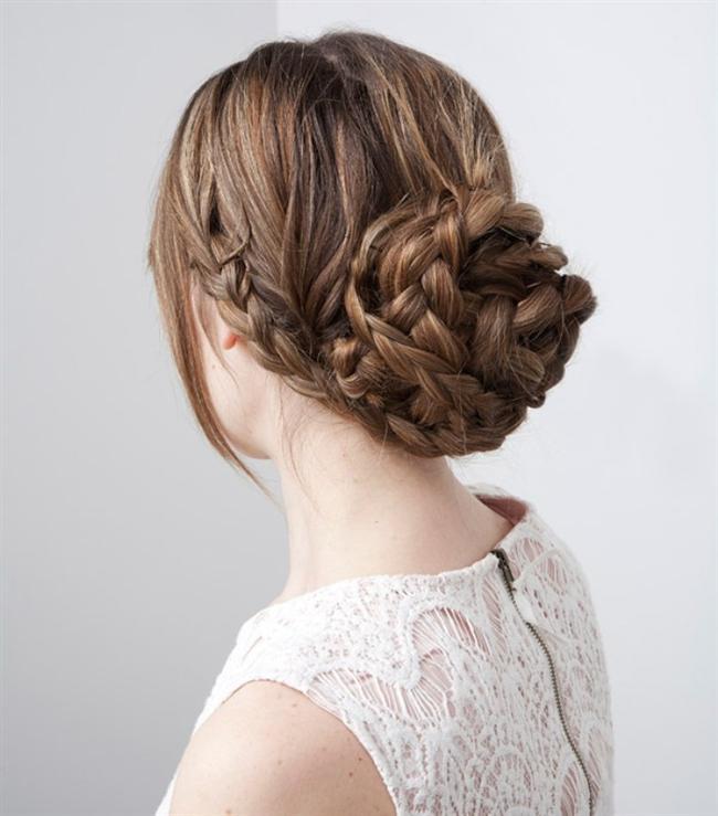 Birbirinden Şık ve Güzel Örgü Saç Modelleri (17)