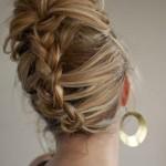 Birbirinden Şık ve Güzel Örgü Saç Modelleri (23)