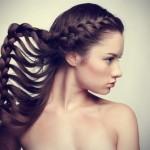 Birbirinden Şık ve Güzel Örgü Saç Modelleri (6)