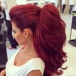 Dark Red Hair Color-koyu kırmızı ve kızıl saç renkleri (9)