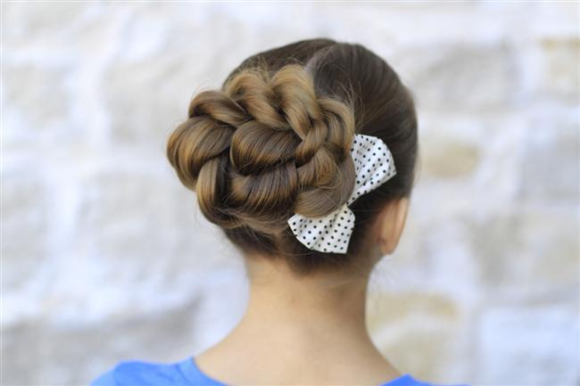 Gelin Topuzu Saç Modelleri (18)