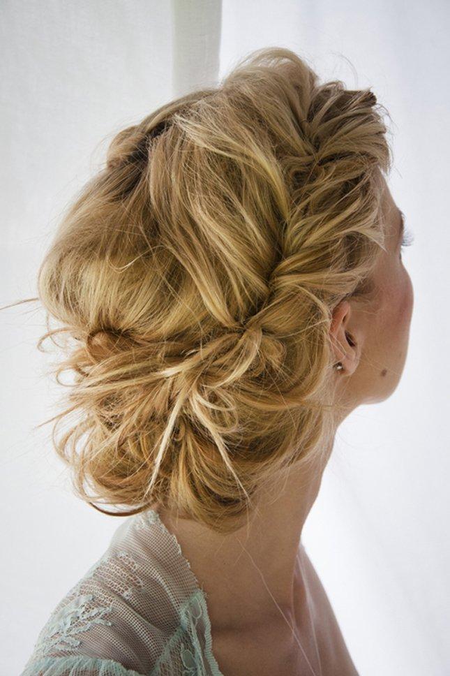 Mükemmel Dağınık Topuz Saç Modelleri-Gelin Saçı (17)