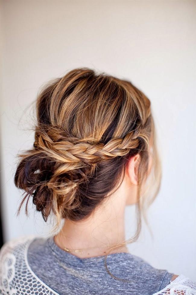 Mükemmel Dağınık Topuz Saç Modelleri-Gelin Saçı (26)