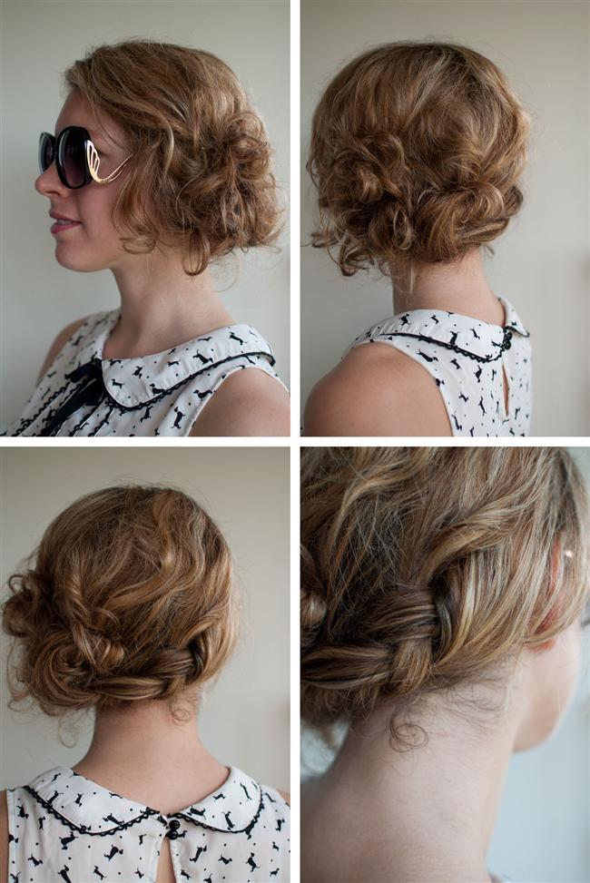 Mükemmel Dağınık Topuz Saç Modelleri-Gelin Saçı (29)