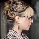 Mükemmel Dağınık Topuz Saç Modelleri-Gelin Saçı (5)